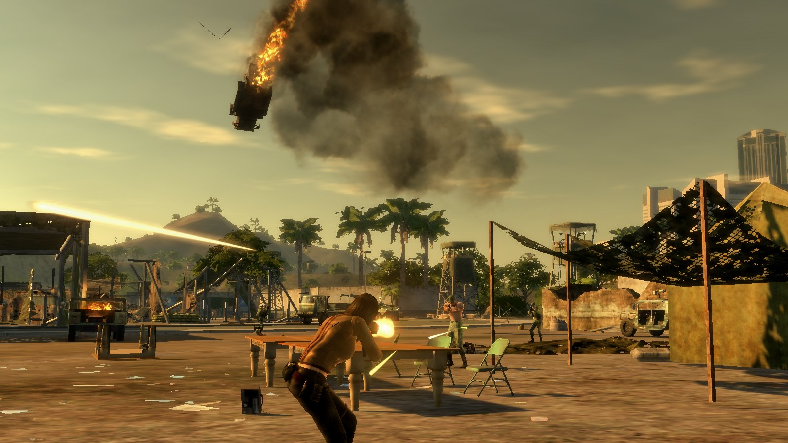Mercenaries 2 world in flames august 31st release monstervine electronic arts open world military shooter mercenaries 2 world in flames altavistaventures Gallery