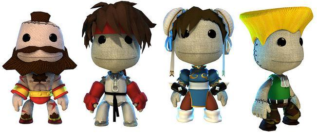 LittleBigPlanet's Street Fighter IV Costumes!