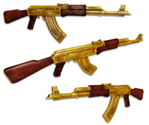 The Gold AK47! If those aren't for you, take a gander at what others are
