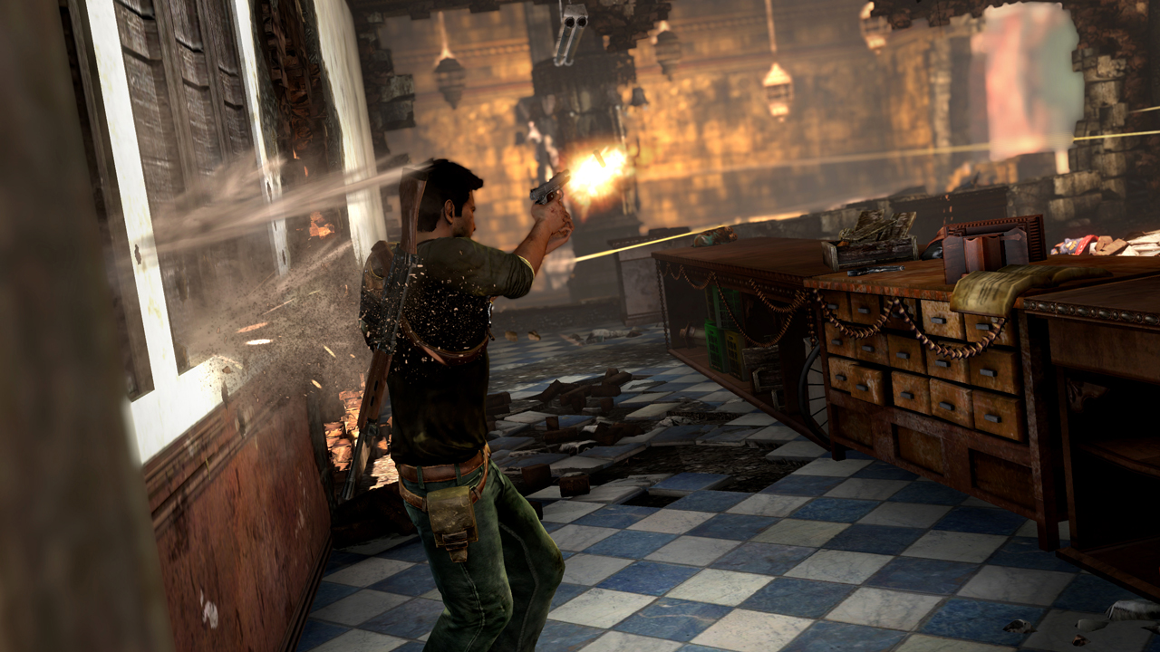 Uncharted 2 screen 1