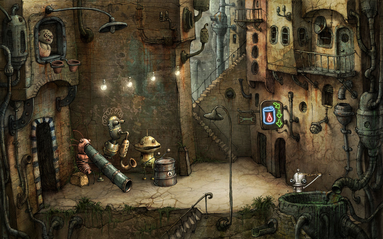 jeux complet machinarium