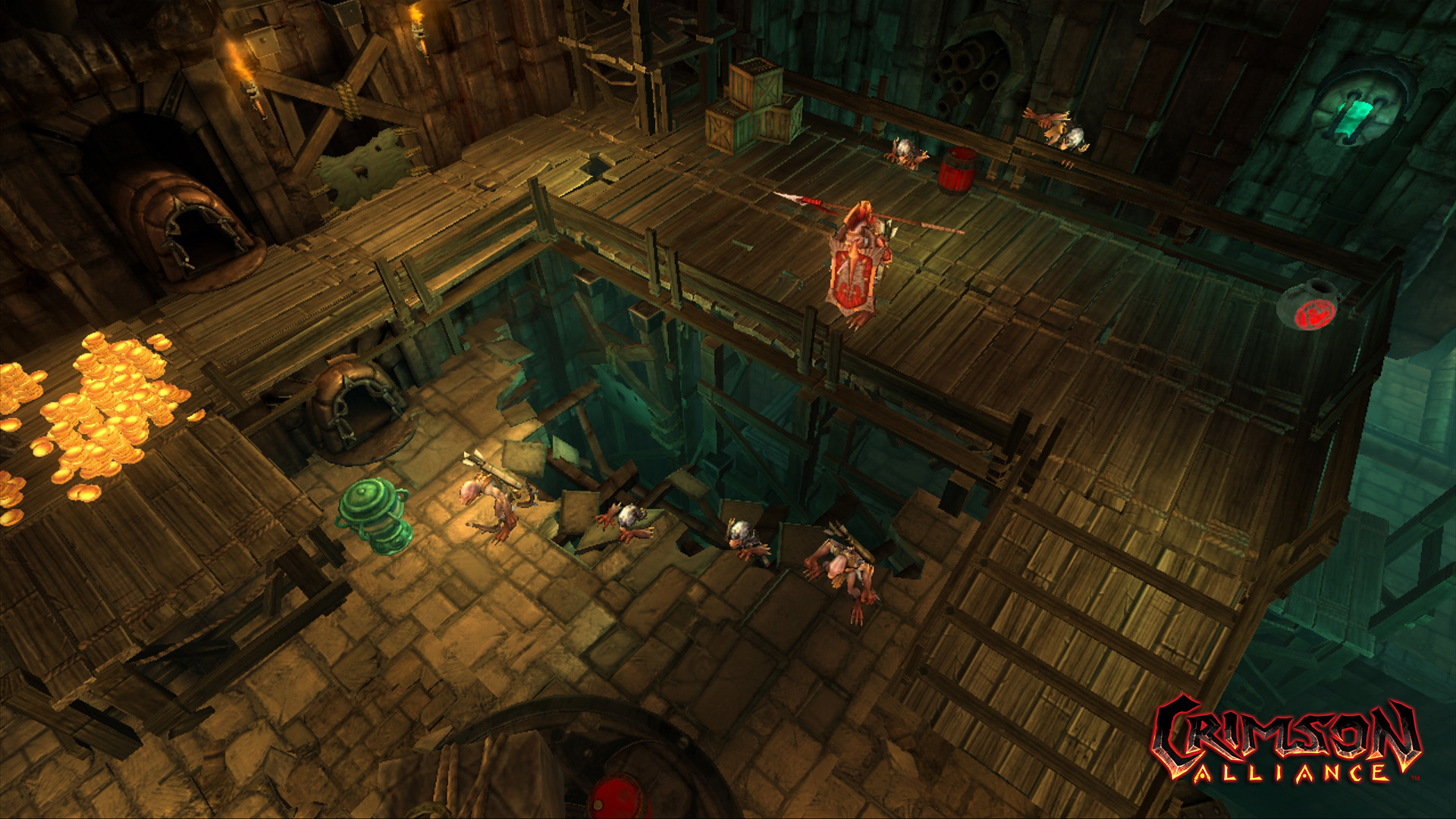 Playstation Wrap Up >> Crimson Alliance Screens Shows Dungeon Crawl, Co-op