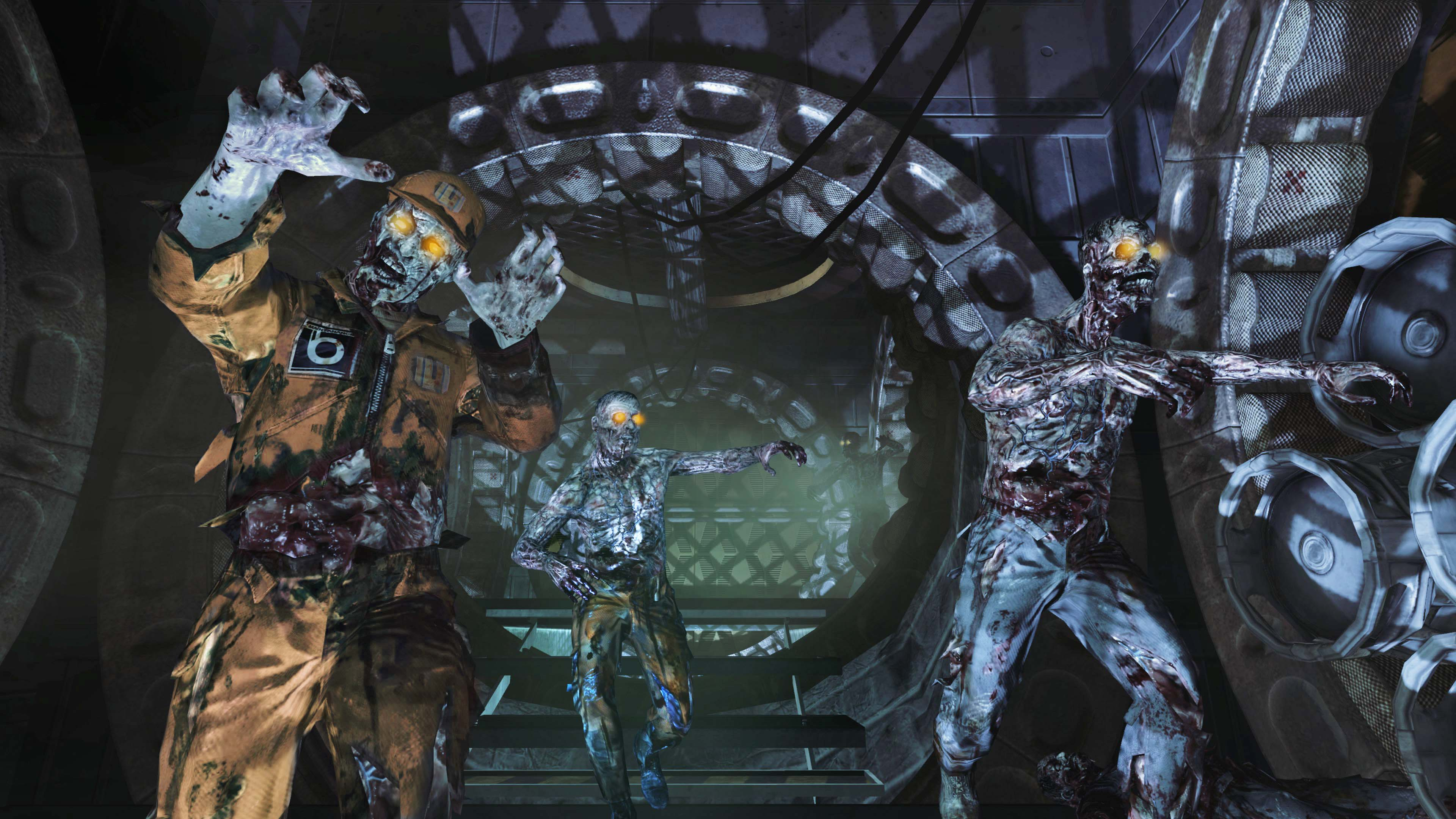 Call of Duty All-Zombies Map Pack 'Rezurrection' Coming August 23rd Call Of Duty Moon Map on