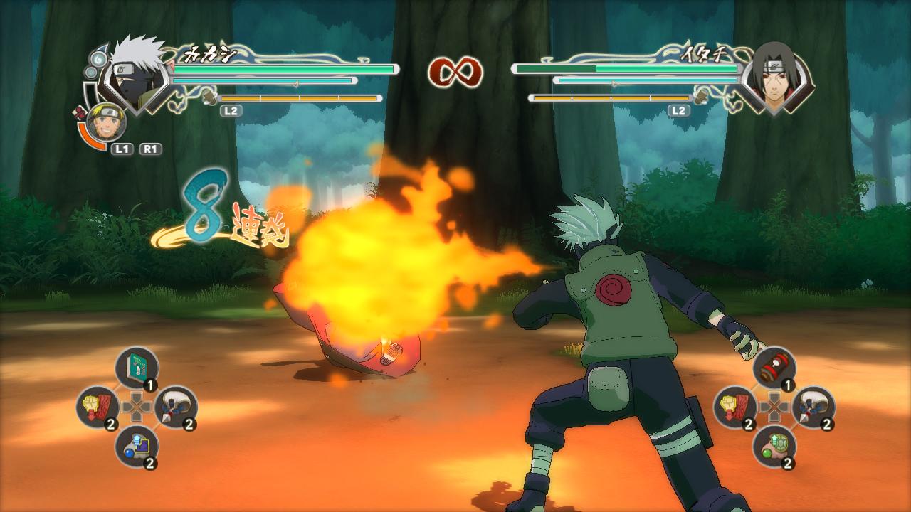 New Naruto Shippuden: Ultimate Ninja Storm Generations screenshots