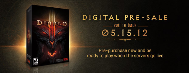Diablo 3 Pre-Purchase