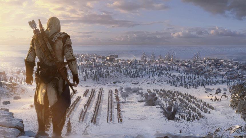 Assassins Creed 3 Gameplay Trailer Released Monstervine