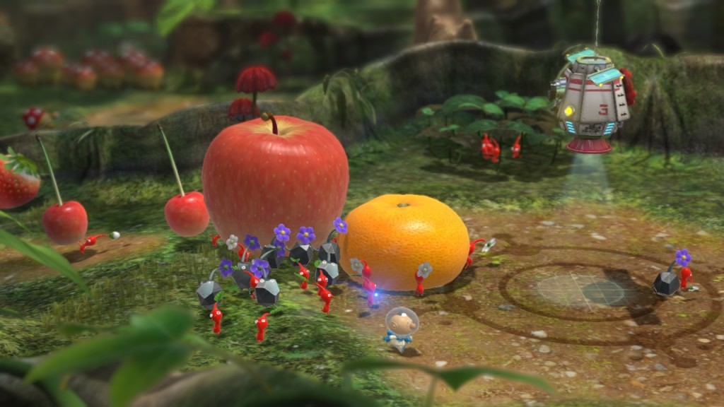 Pikmin 3 Preview Familiar Gameplay Troubling Controls Monstervine