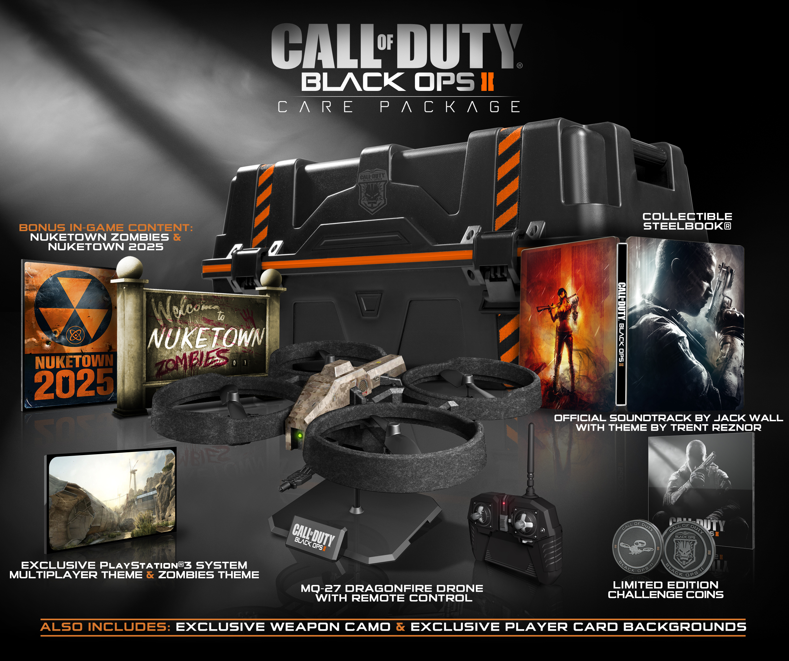 Black Ops 2 Collector's Editions Revealed | MonsterVine on call duty black ops 2 zombies buried, call of duty black ops zombies call of the dead, black ops all zombie maps, call of duty black ops five map, black ops 2 multiplayer maps, call of duty black ops kino der toten map, call of duty black ops coloring pages, call of duty zombies map packs, black ops 1 zombie maps, call of duty black ops zombies moon map, call of duty black ops 3 release date, call of duty all zombie maps,