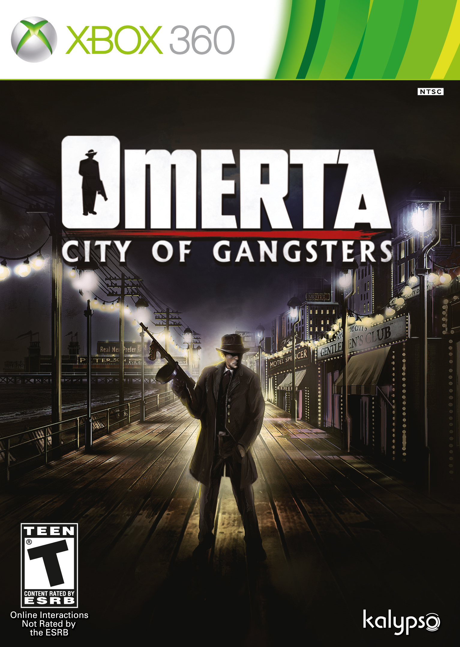 Omerta City Of Gangsters (X-BOX 360) 2013