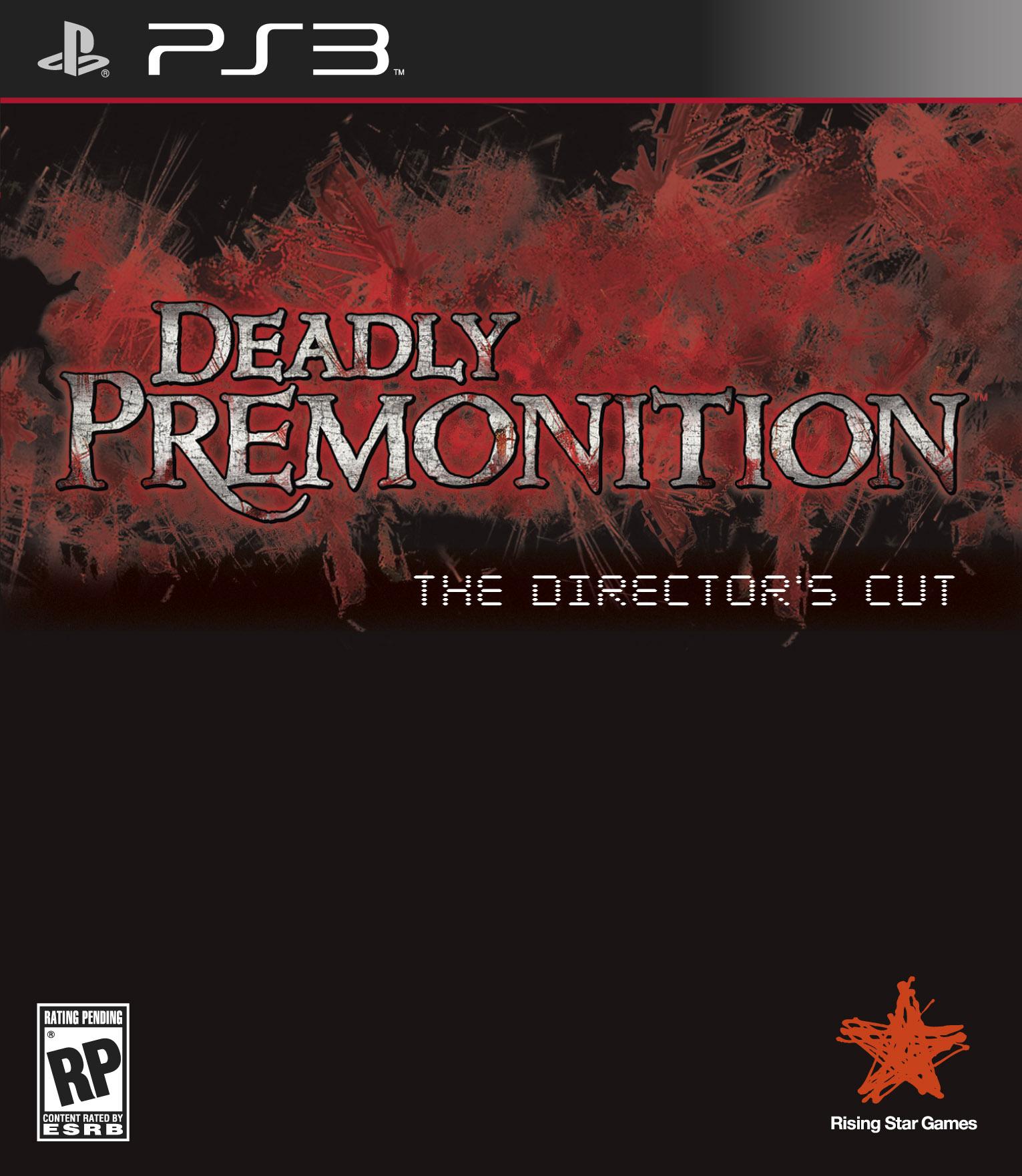 DeadlyPremonitionDLX_PS3_FLAT Packshot USA