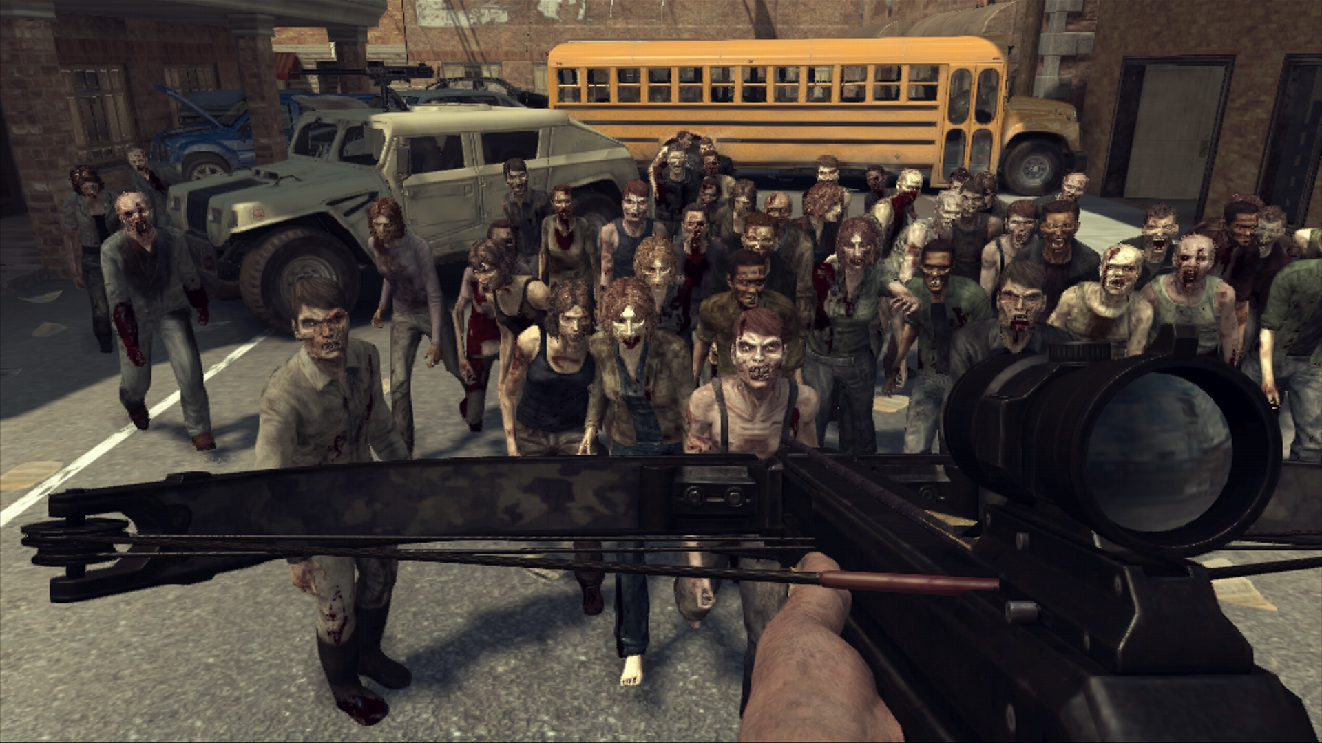 The Walking Dead Survival Instinct_HerdMode
