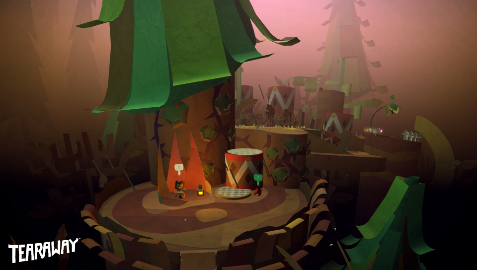 tearaway takes you on an adventure in a papercraft world monstervine