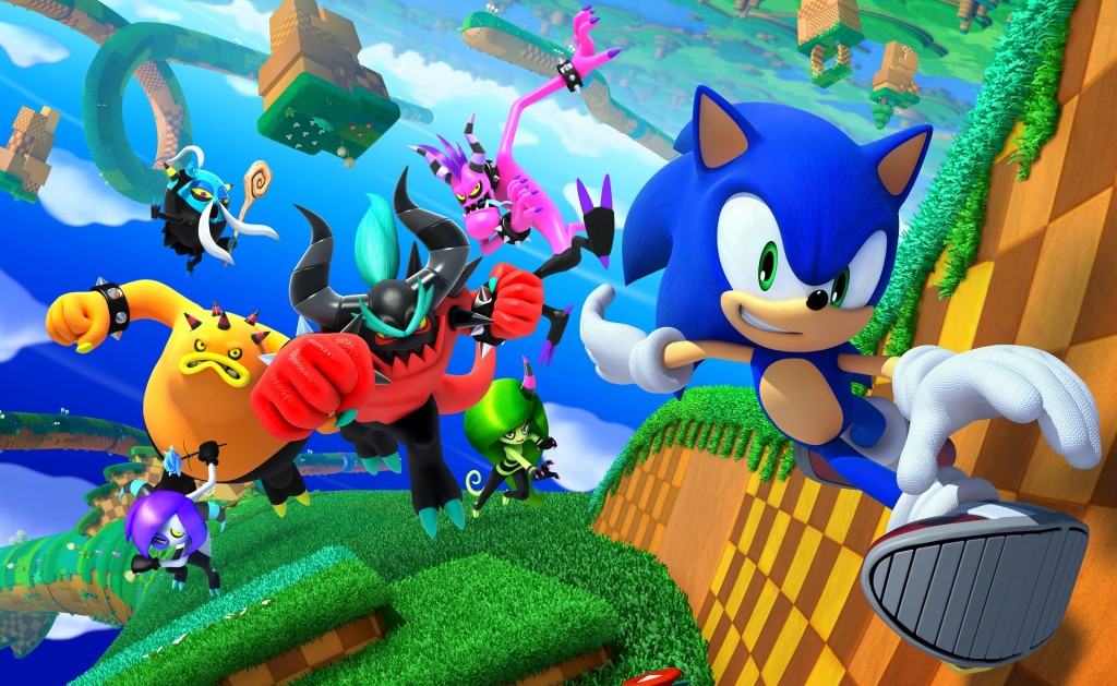 Sonic Lost World - 3DS And Wii U Launch Trailers | MonsterVine
