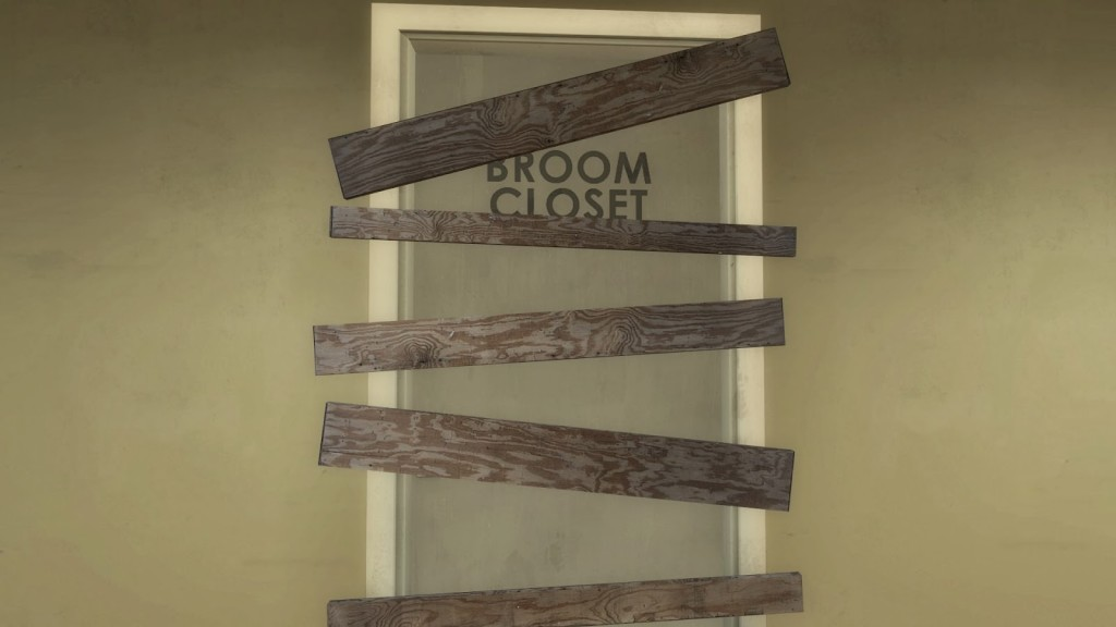 Stanley Parable Broom Closet