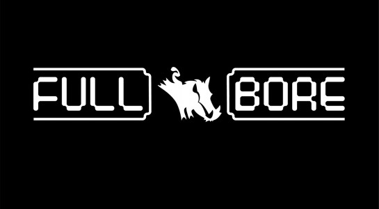 Full Bore game logo vector