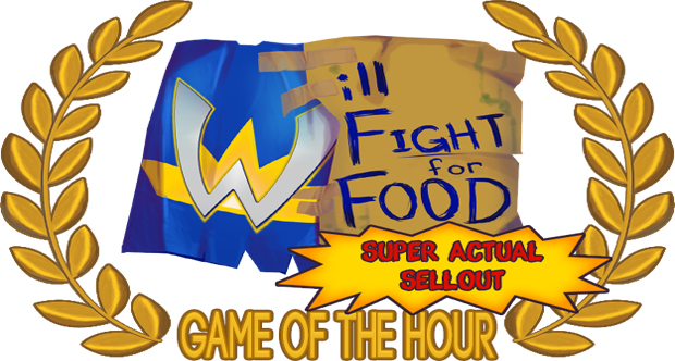 will fight for food banner