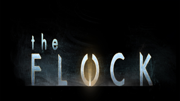 the flock banner
