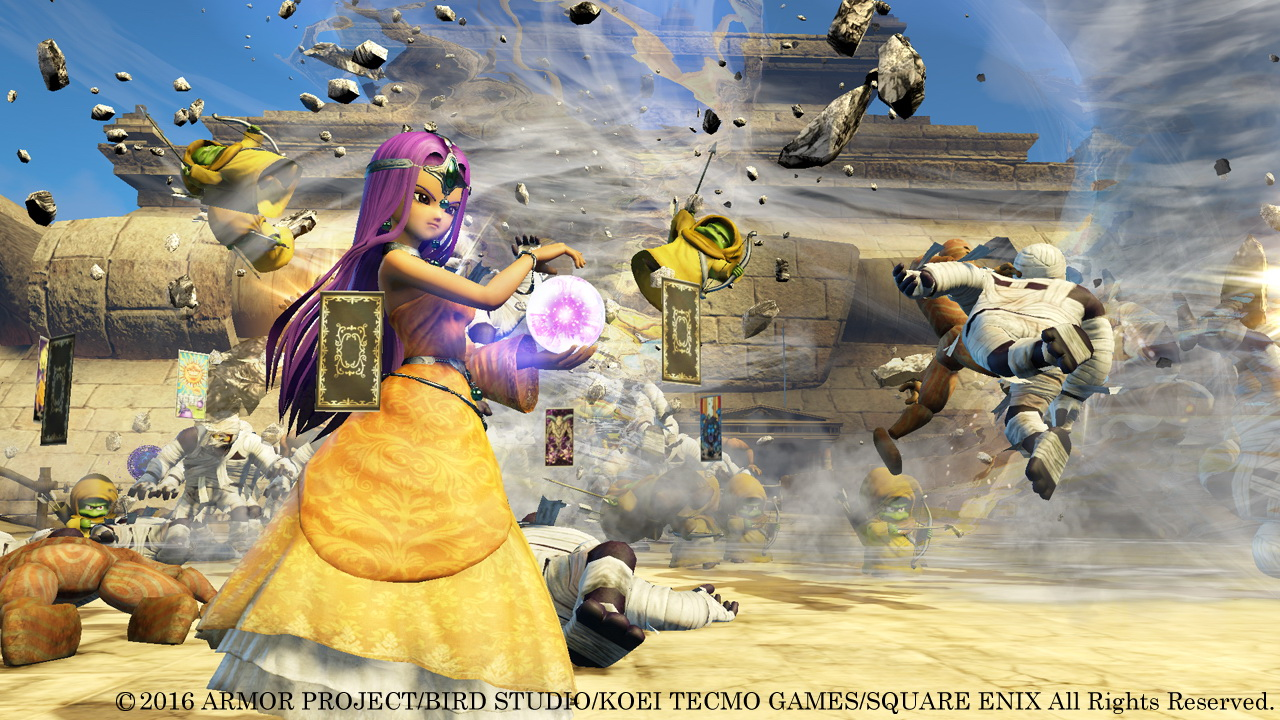 Dragon Quest Heroes 2 Gets A New Trailer And An Explorer S Edition Monstervine A page for describing characters: monstervine