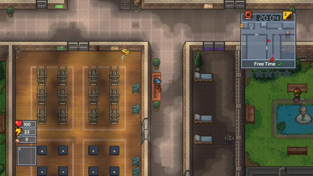 Escaping from Prison in The Escapists 2 | MonsterVine