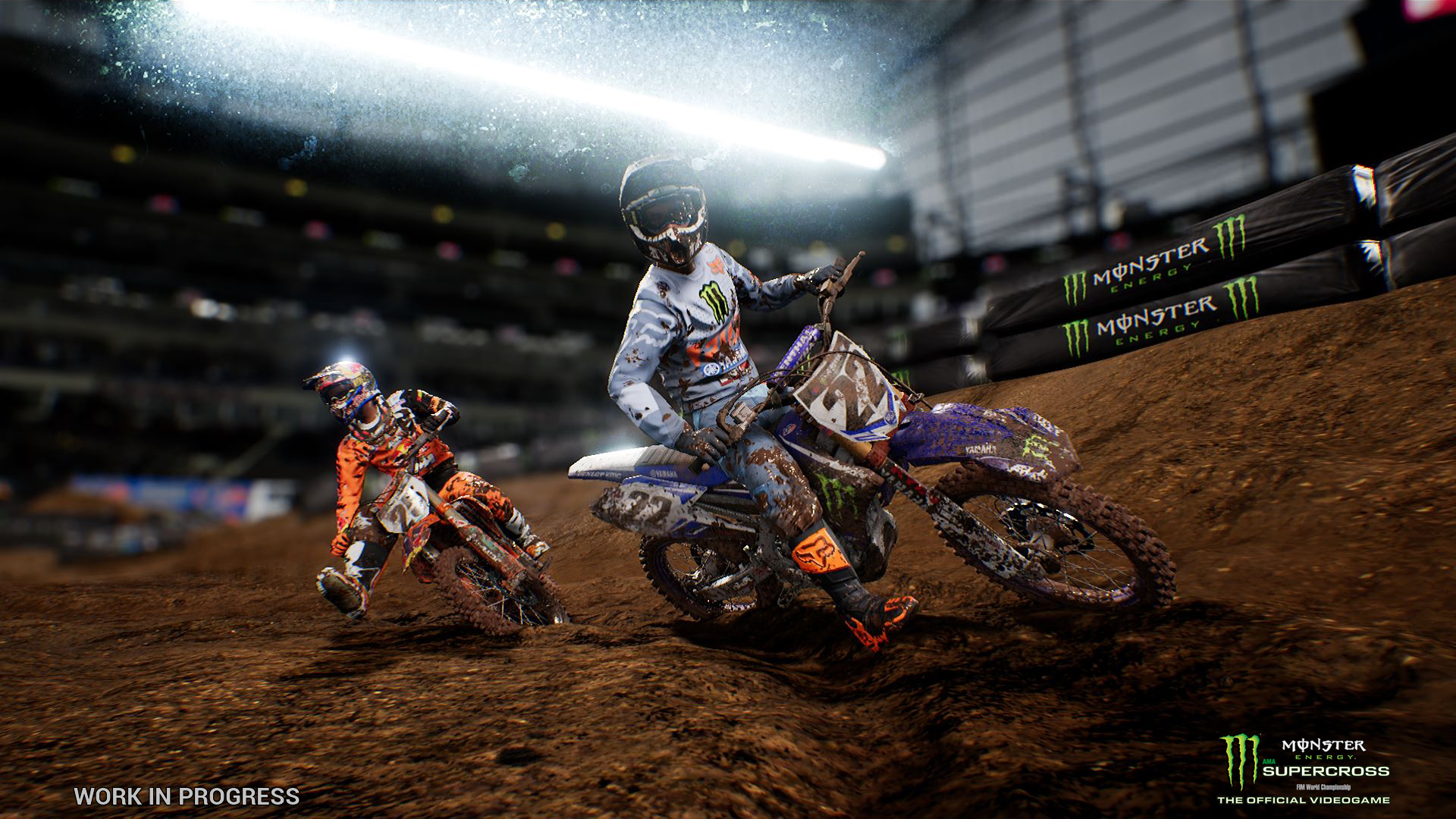 monster energy supercross the official videogame preview. Black Bedroom Furniture Sets. Home Design Ideas