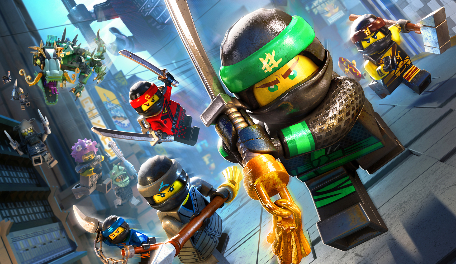 This is a photo of Zany Pictures of Ninjago Characters