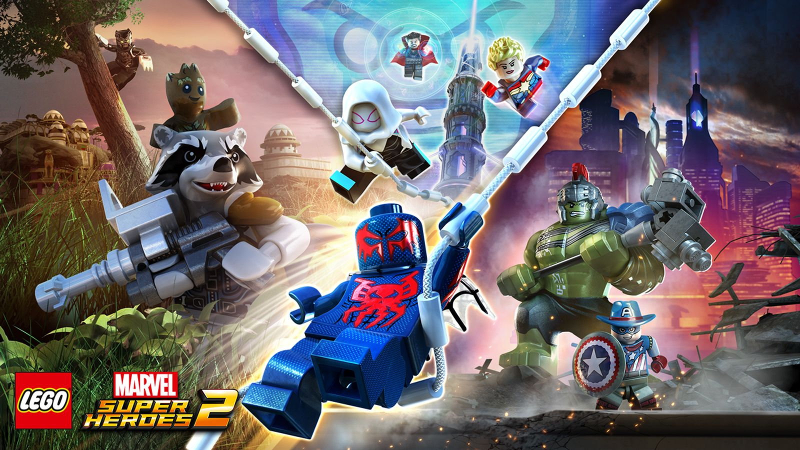 Lego Marvel Super Heroes 2 Review More Like Lego
