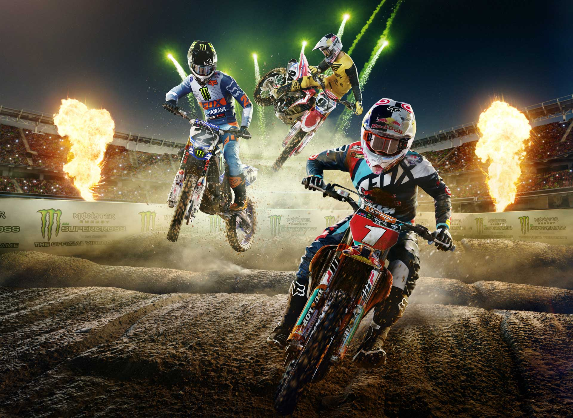 monster energy supercross the official video game review. Black Bedroom Furniture Sets. Home Design Ideas