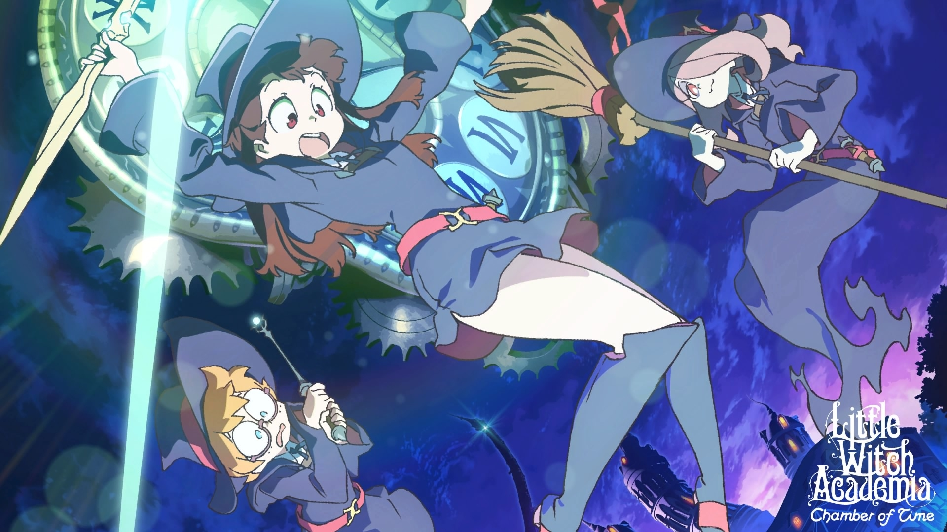 Little Witch Academia Chamber Of Time Review Anime