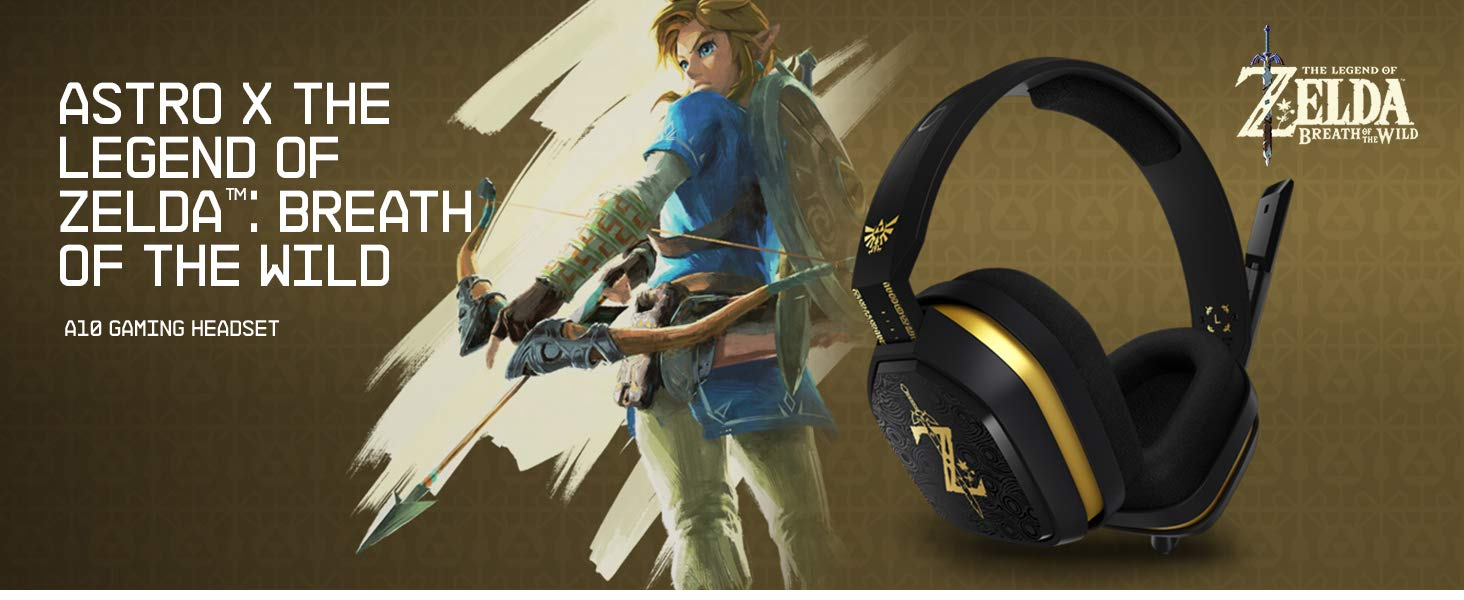 19753bbe8f8a03 Astro A10 Zelda: Breath of the Wild Headset Review – Hearing in Hylian
