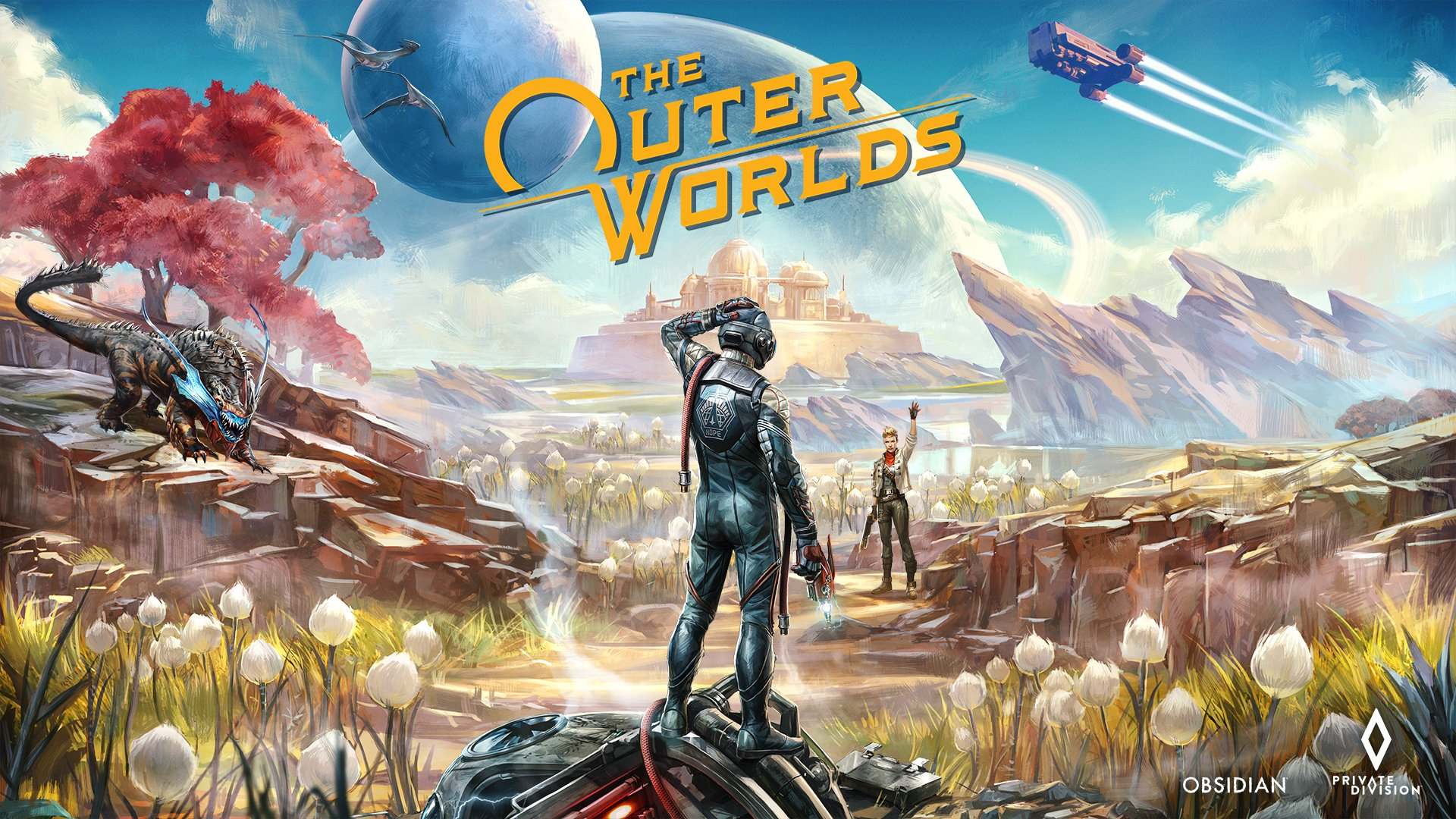 Image result for the outer world banner